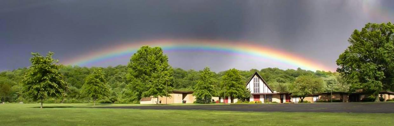 Rainbow at St. Paul's Lutheran Church of Sassamansville