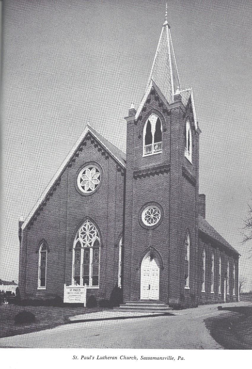 St. Paul's Lutheran Church of Sassamansville
