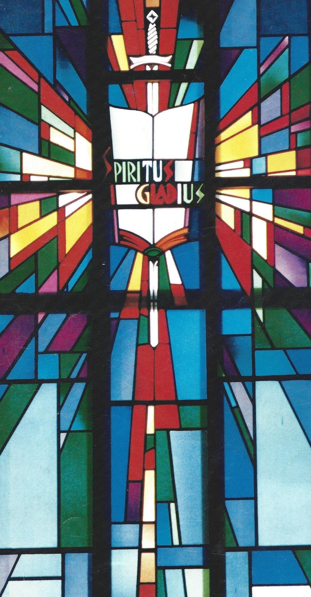 Stained Glass Window | St. Paul's Lutheran Church of Sassamansville