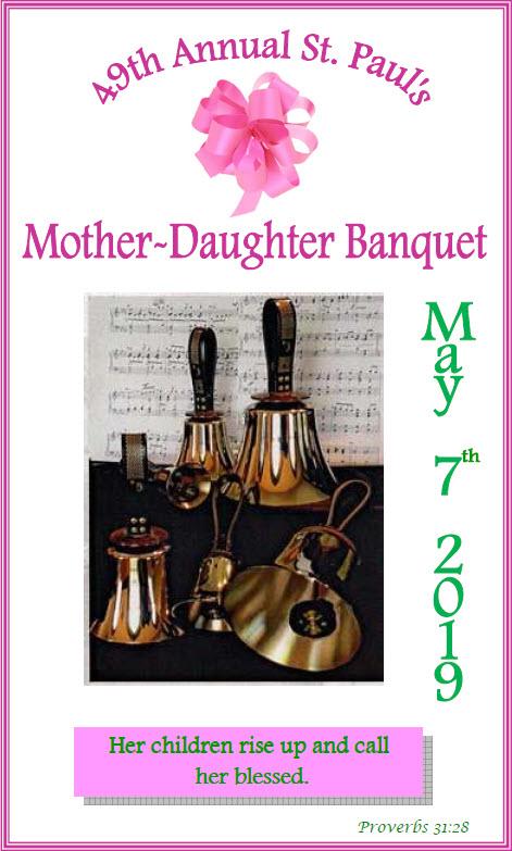 mother daughter banquet st pauls