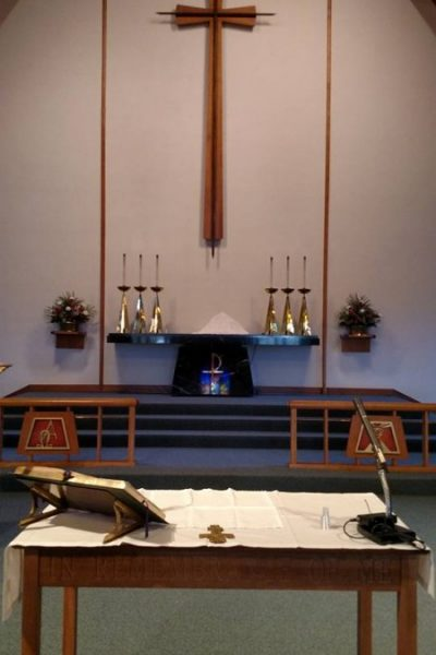 St. Paul's Lutheran Church of Sassamansville Interior
