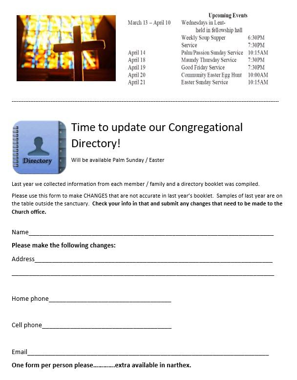 directory info